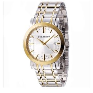 Burberry Two tone watch